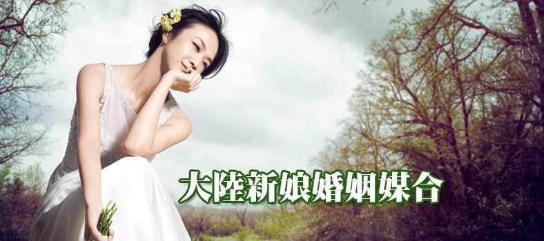 大陸新娘婚姻媒合
